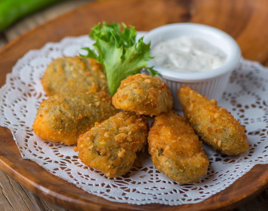 Breaded Jalapeno Pepper & Cheese