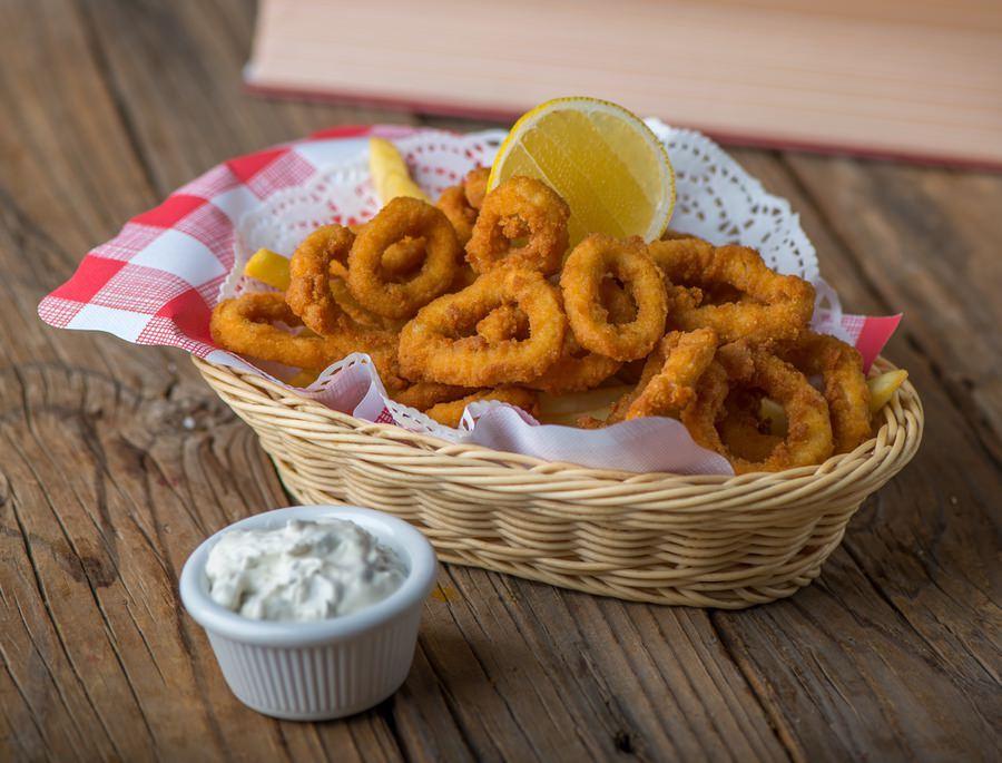 Crumb Fried Calamari