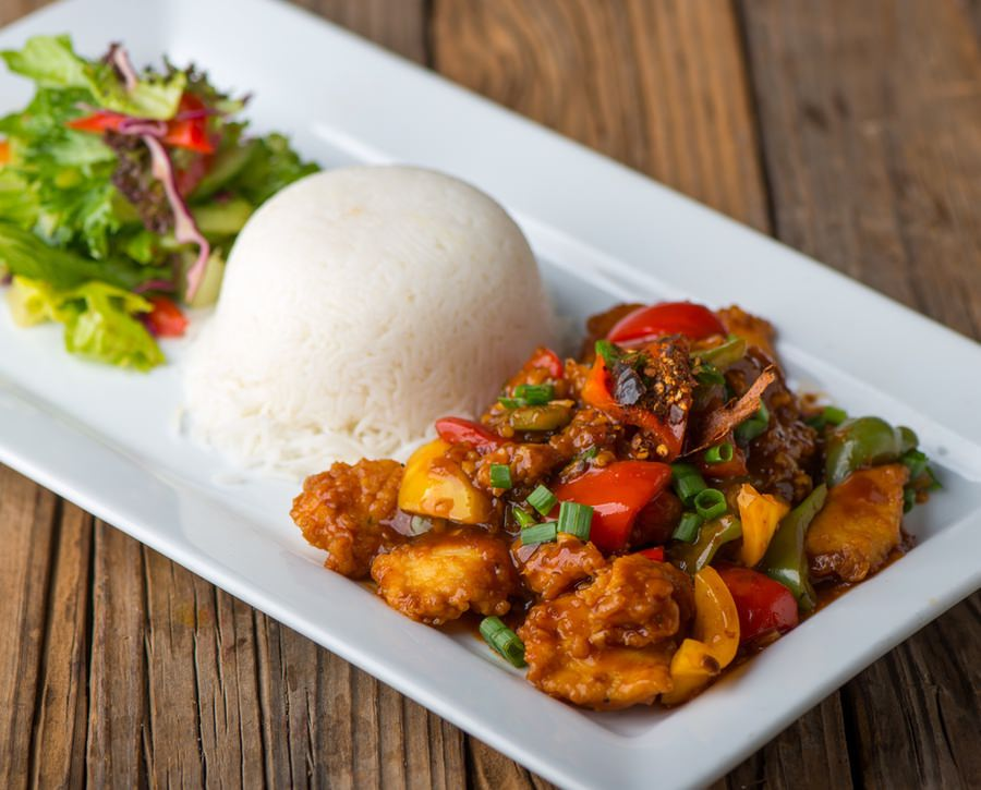 Asian Spiced Hammour