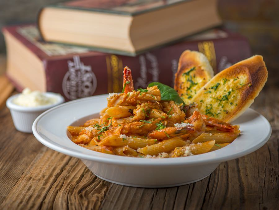 Sea Food Penne in Mix Sauce