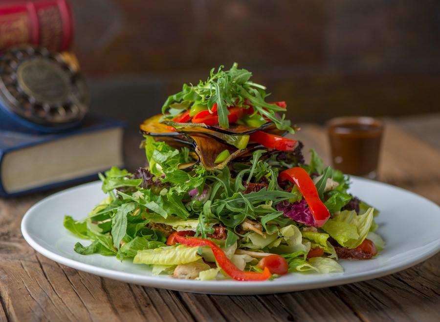 Mediterranean Style Chicken Salad