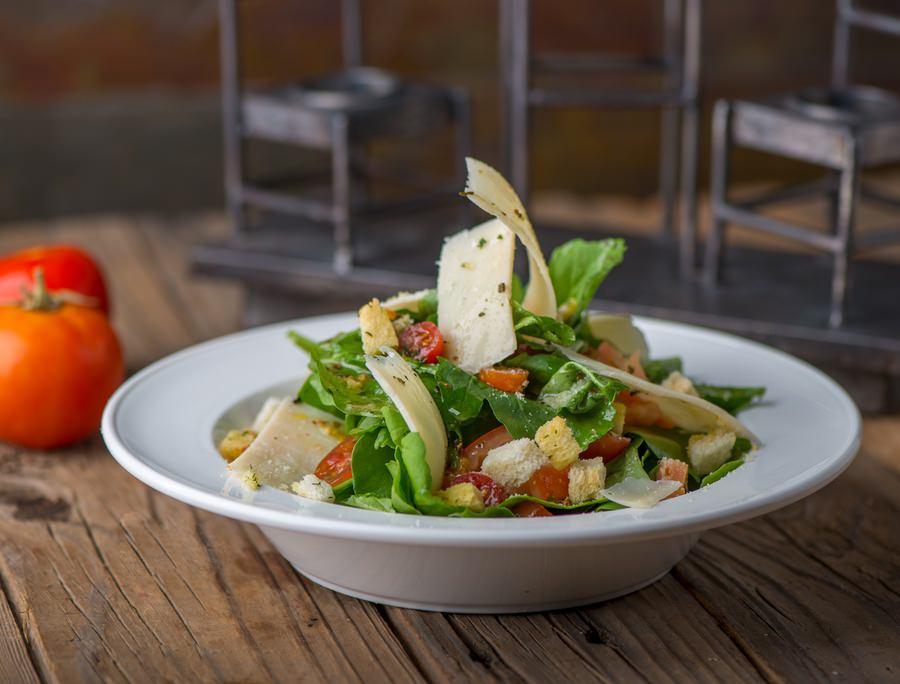 Rocca Tomato Parmesan Salad