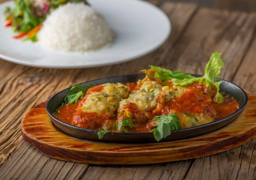 Hammour Tomato Herb