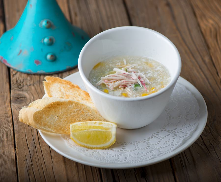Crab Meat & Corn Egg Drop Soup