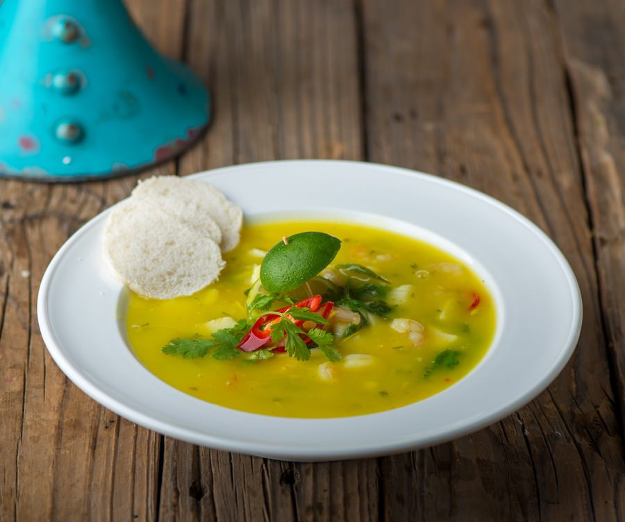 Seafood Sicilian Soup