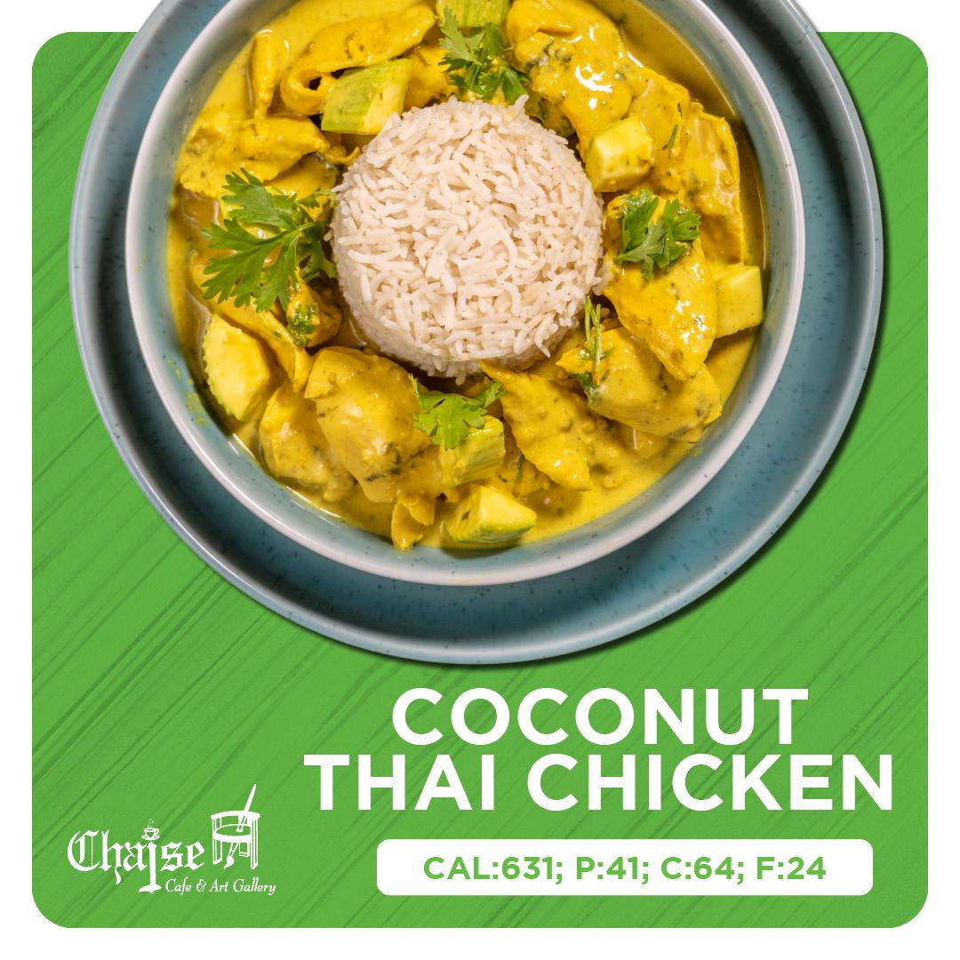 Coconut Thai chicken
